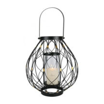 Bronze & Black Twist Lantern-DAHOME02