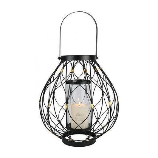 Bronze & Black Twist Lantern-DAHOME02