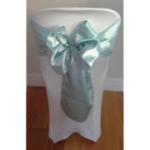 Sea Green Satin Sash