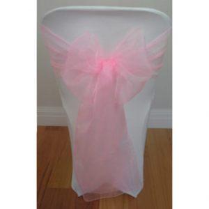Bright-Pink-Organza-Sash