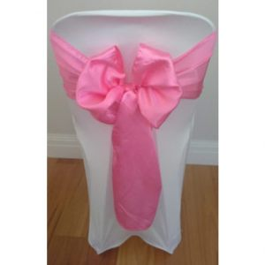 Bright-Pink-Satin-Sash