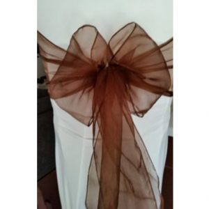 Chocolate-Organza