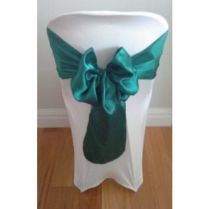 Emerald-Satin-Sash