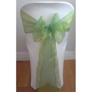 Forest-Green-Organza-Sash