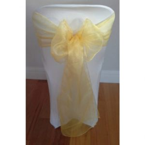 Lemon-Organza
