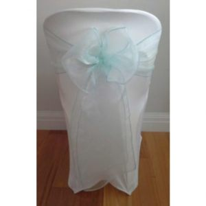 Tiffany-Blue-Organza-Sash