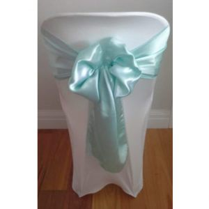 Tiffany-Blue-Satin-Sash
