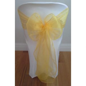 Yellow-Organza